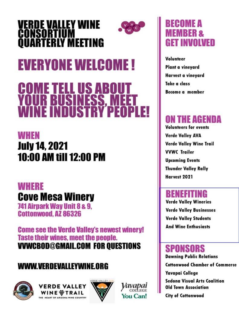Quarterly Meeting – July 14, 2021